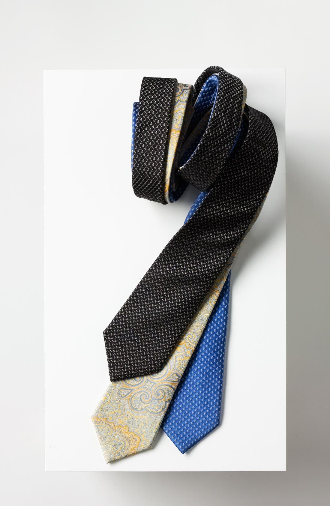 Alternate Image 2  - Valentino Woven Silk Tie