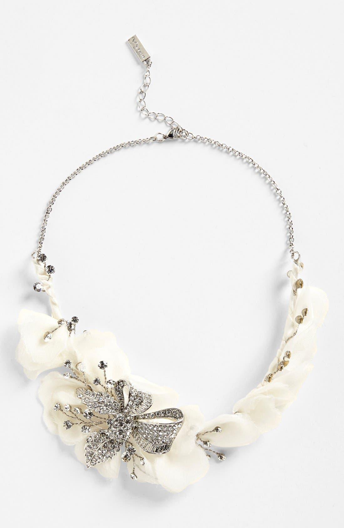 Main Image - Nina 'Omara' Flower Bib Necklace
