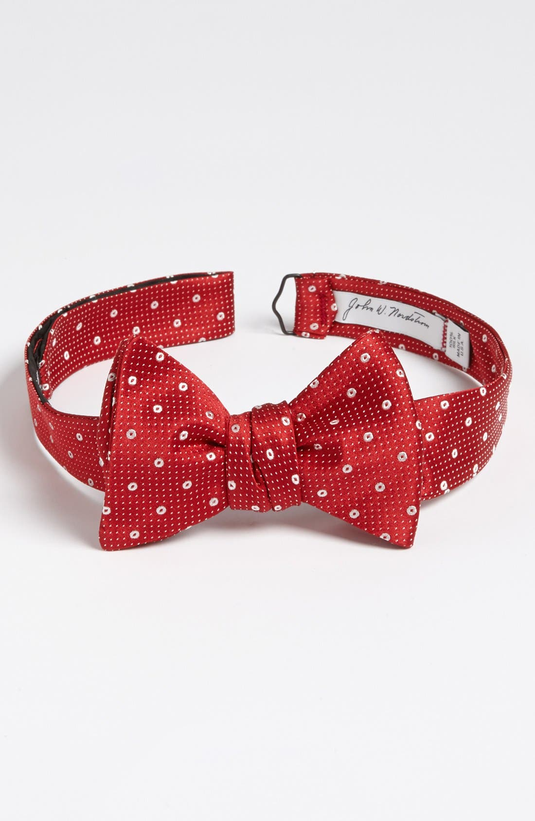 Alternate Image 1 Selected - John W. Nordstrom® Woven Silk Bow Tie