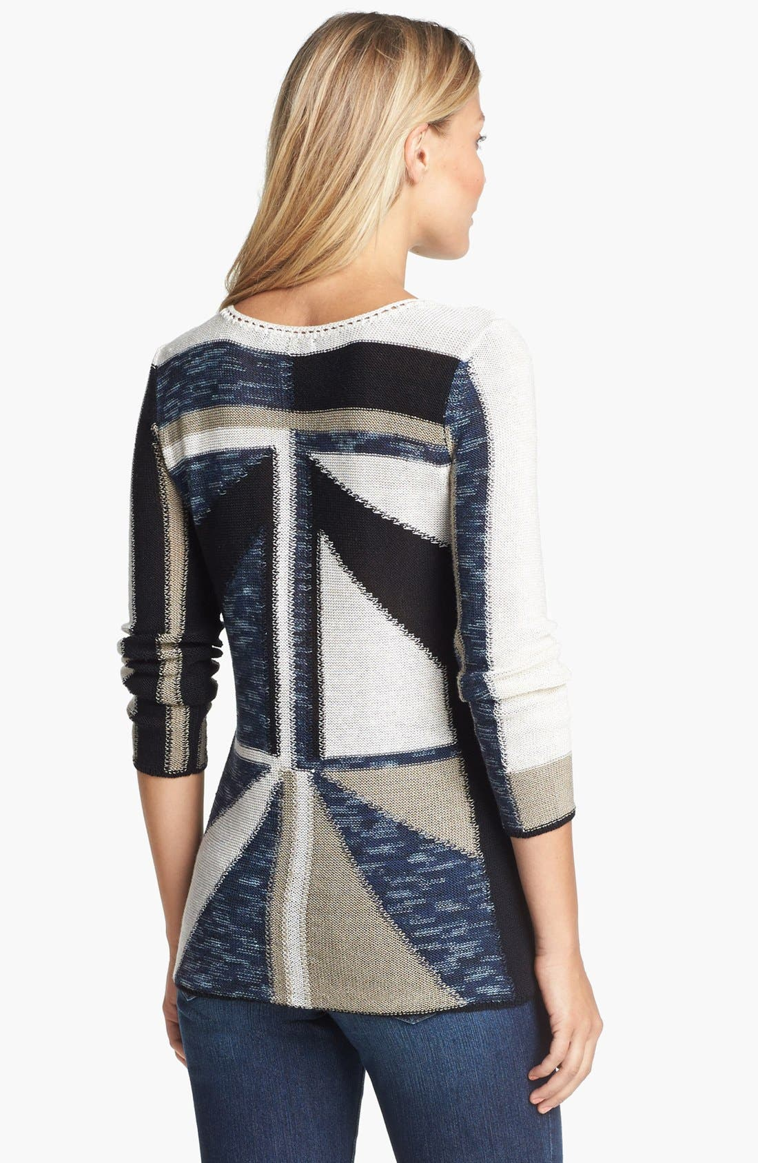 Alternate Image 2  - NIC+ZOE 'Triangle' Sweater