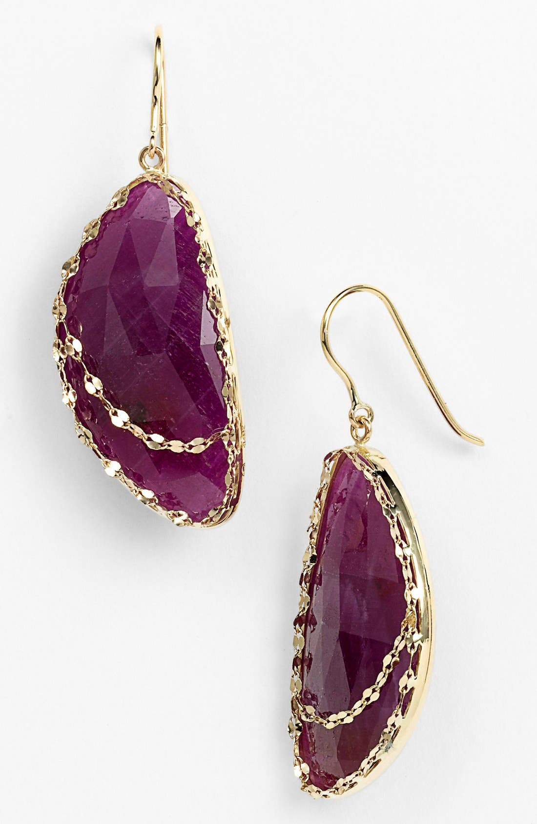 Alternate Image 1 Selected - Lana Jewelry 'Stone Gold - Eden' Sapphire Drop Earrings