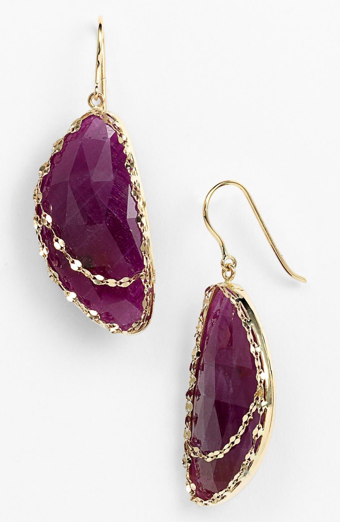 Main Image - Lana Jewelry 'Stone Gold - Eden' Sapphire Drop Earrings