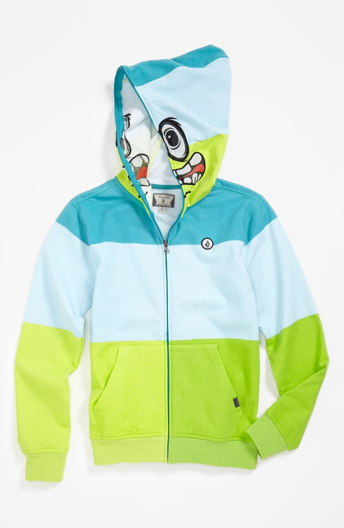 Alternate Image 1 Selected - Volcom 'Booster' Mask Hoodie (Big Boys)