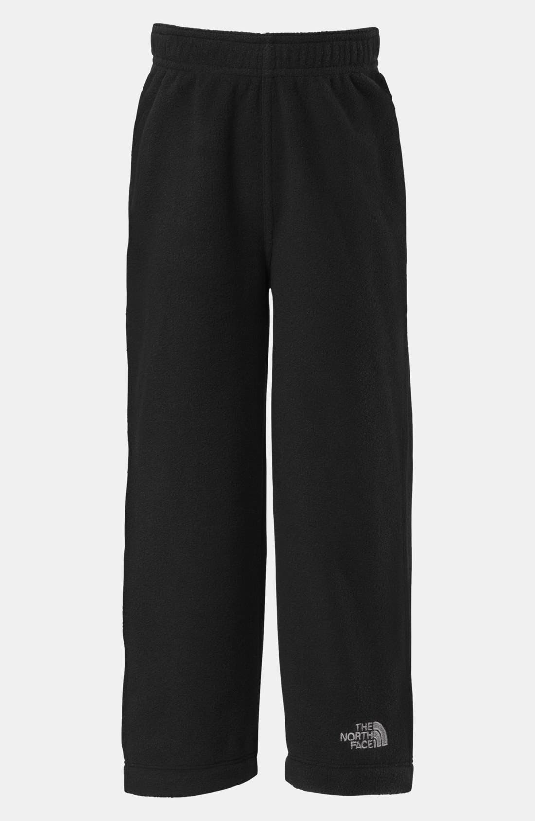 Alternate Image 1 Selected - The North Face 'Glacier' Polartec® Fleece Pants (Toddler Boys)