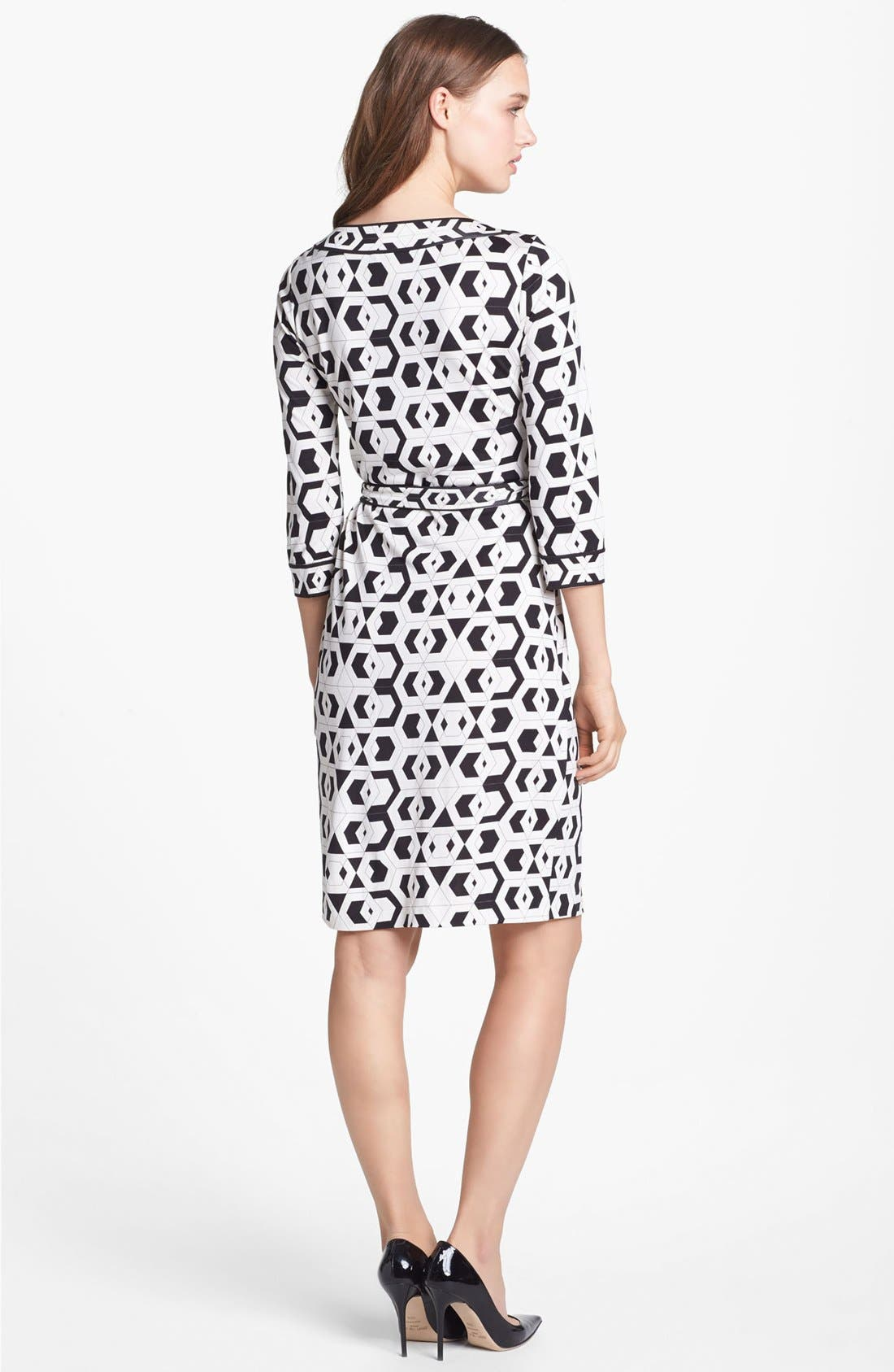 Alternate Image 2  - Diane von Furstenberg 'Julian' Banded Silk Wrap Dress
