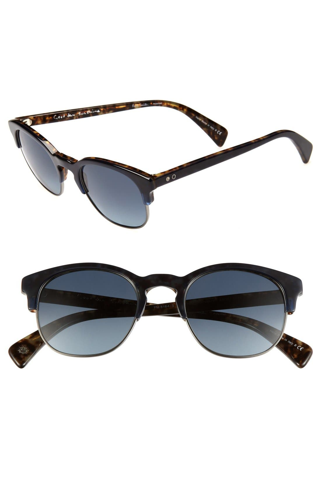 Main Image - Paul Smith 'Yorkshire' 49mm Polarized Sunglasses