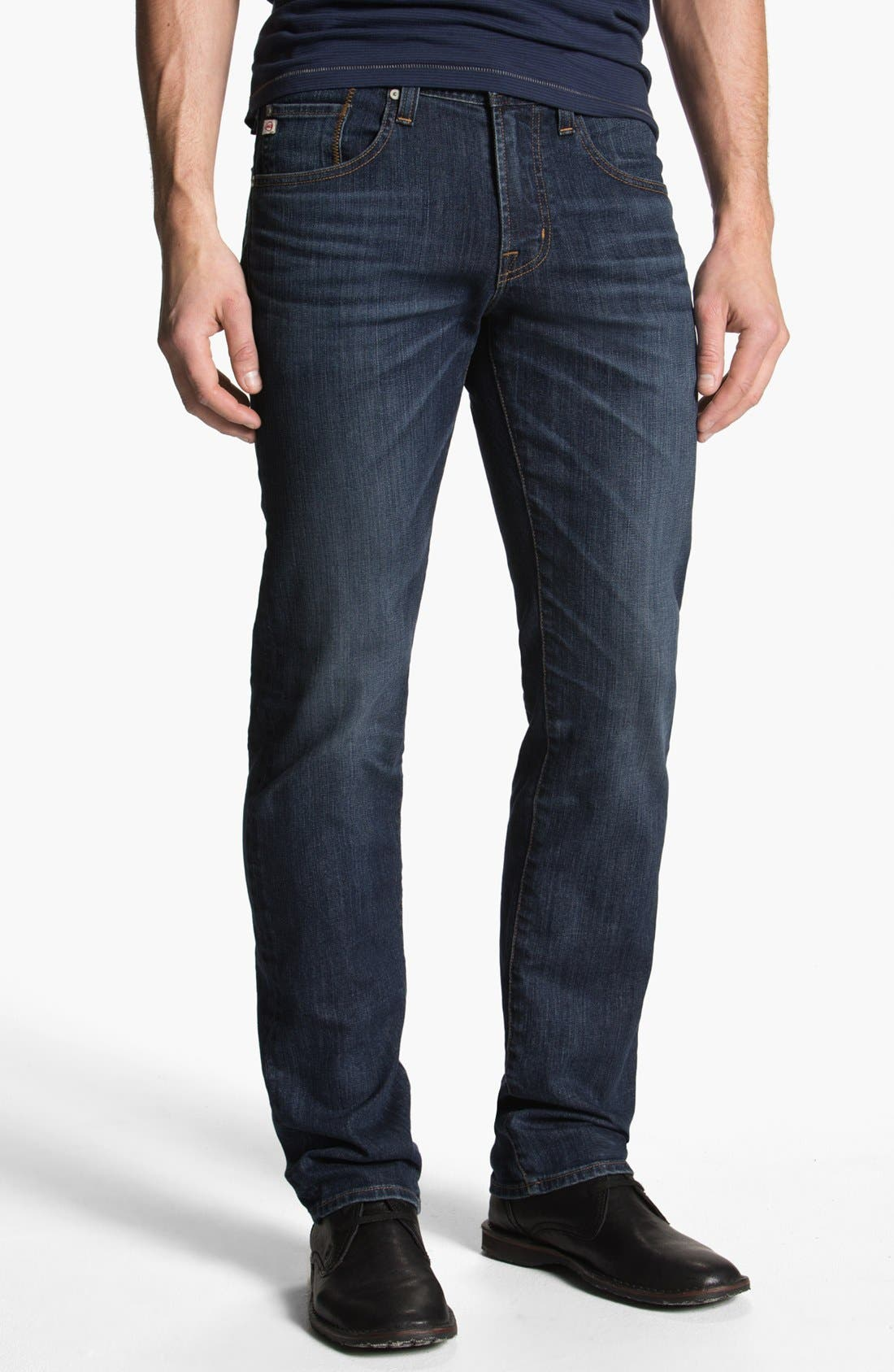 Alternate Image 1 Selected - AG 'Matchbox' Slim Fit Jeans (8 Year)