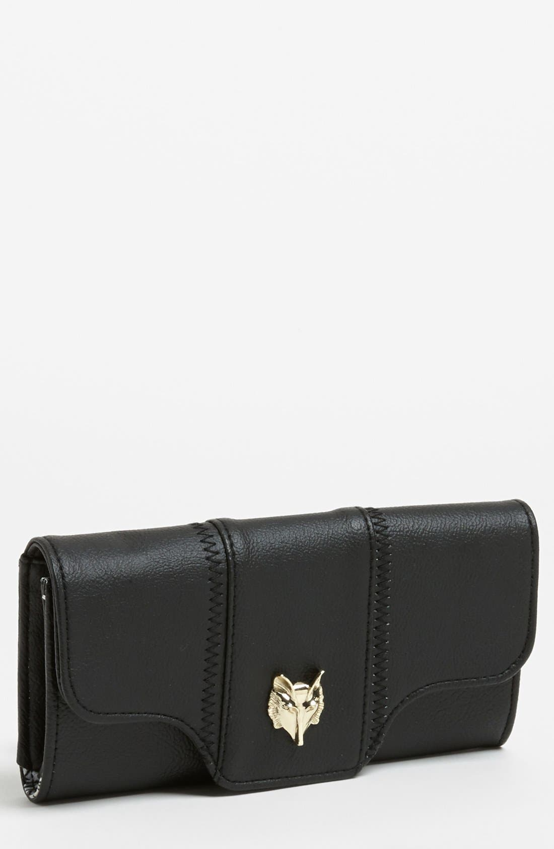 Alternate Image 1 Selected - Lulu Faux Leather Wallet