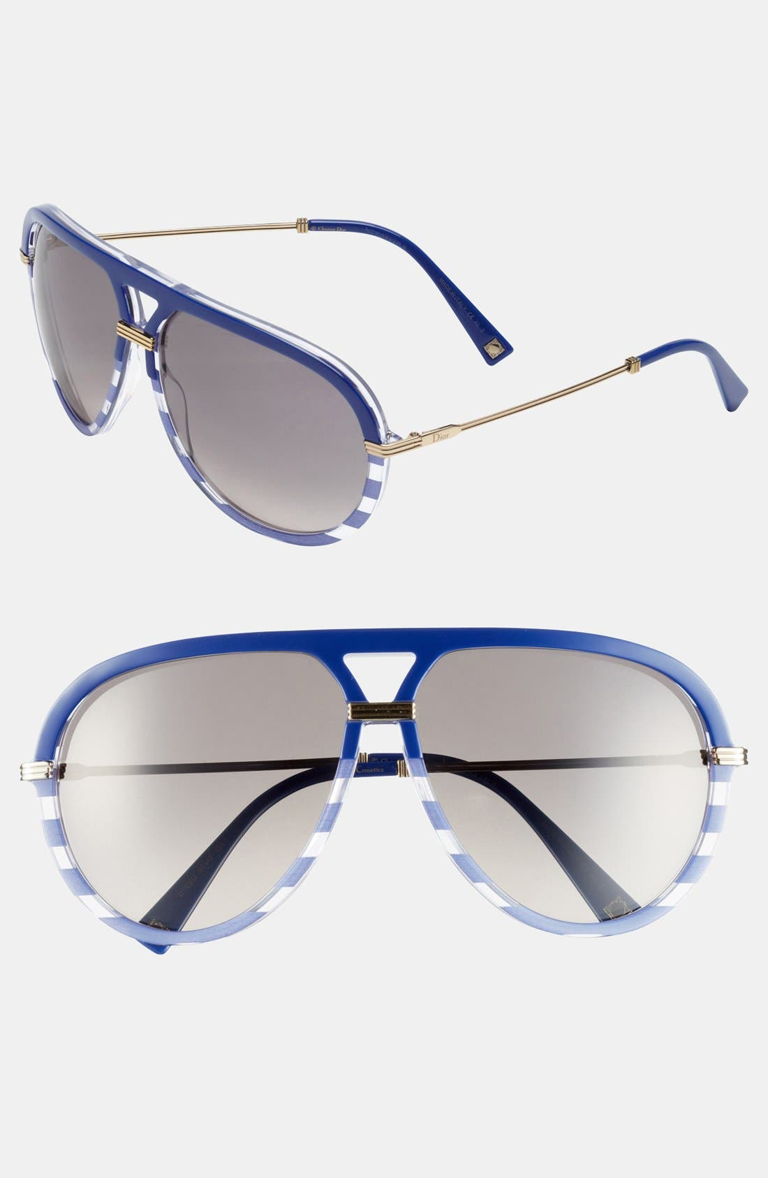 Alternate Image 1 Selected - Dior 'Croisette 2' Aviator Sunglasses