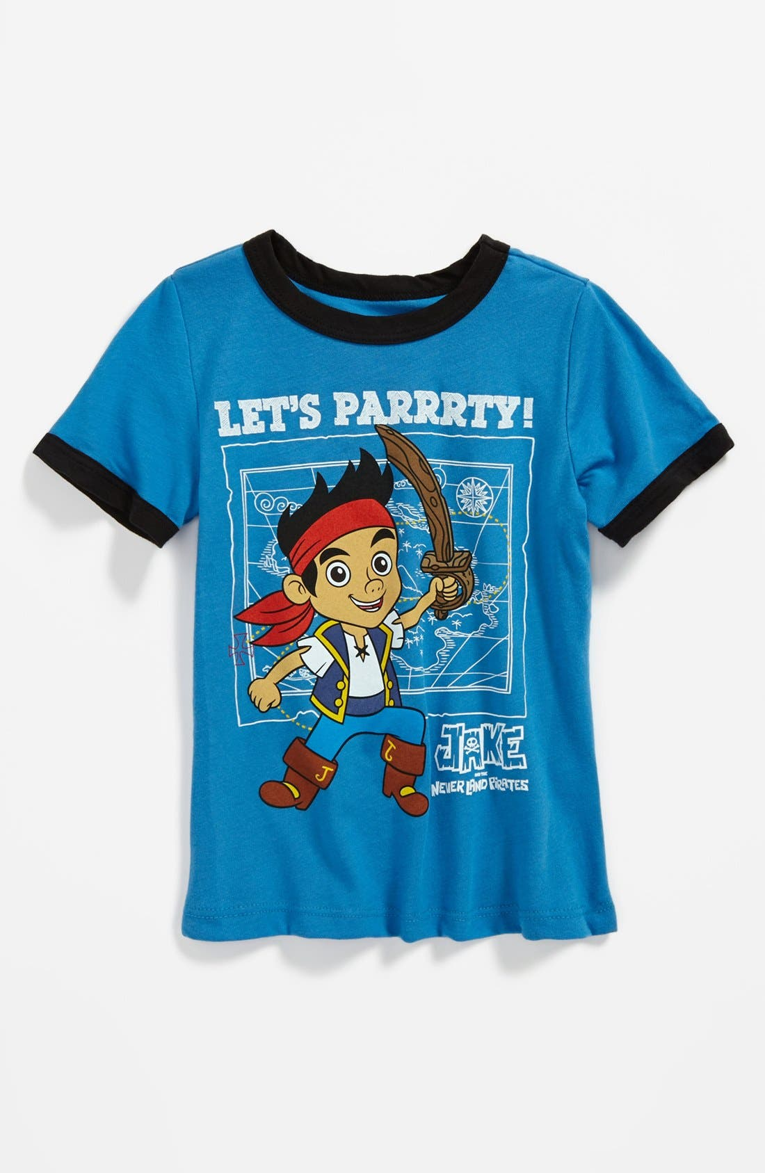 Alternate Image 1 Selected - Mighty Fine 'Let's Parrrty' T-Shirt (Toddler Boys)