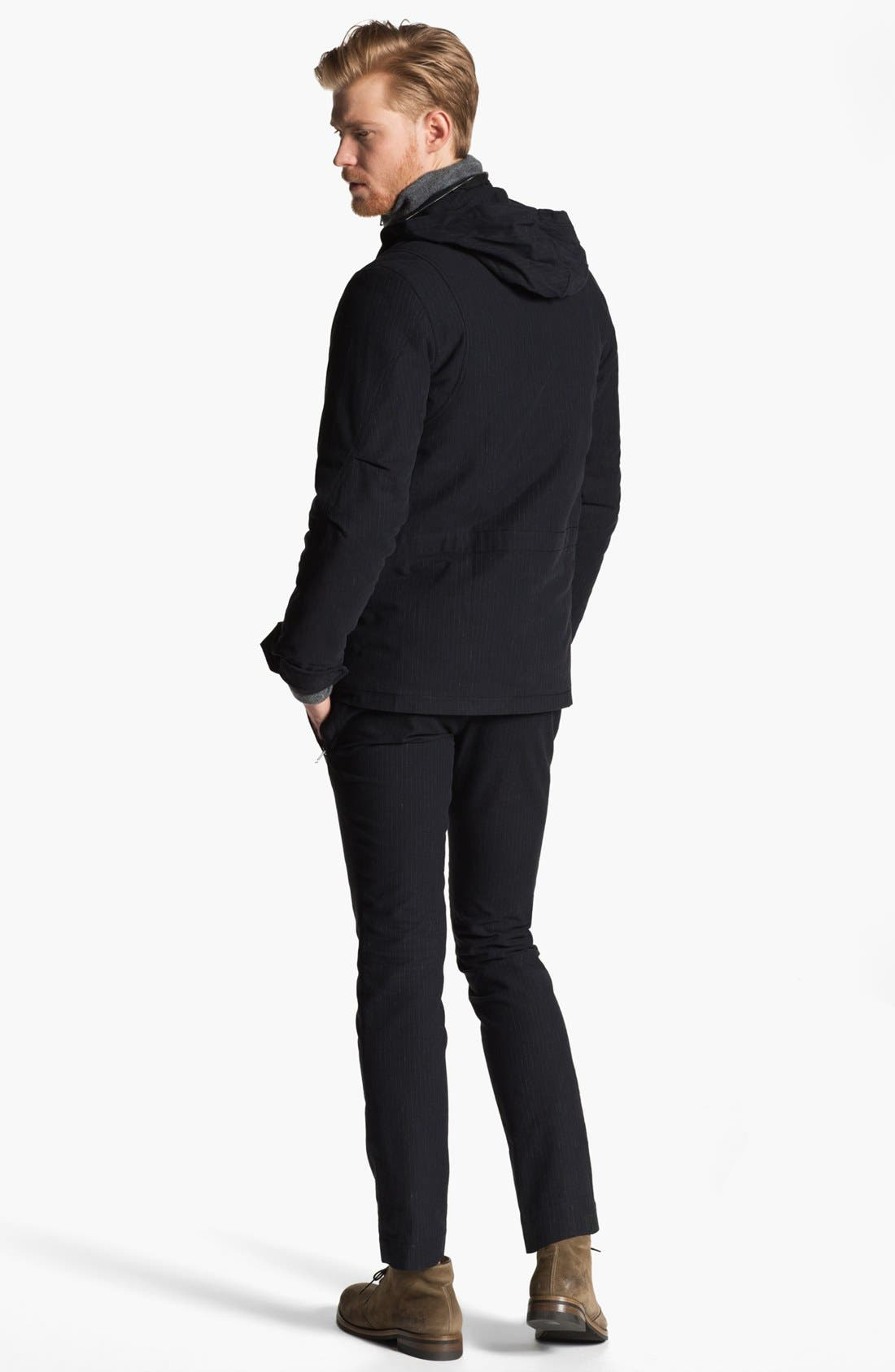 Alternate Image 5  - U Clothing Pinstripe M-65 Field Jacket