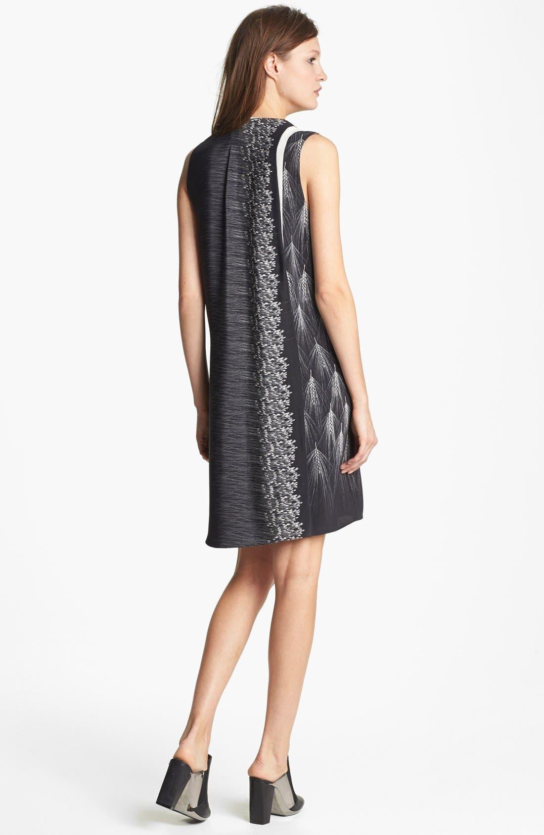 Alternate Image 2  - 3.1 Phillip Lim Mix Print Layered Silk Dress