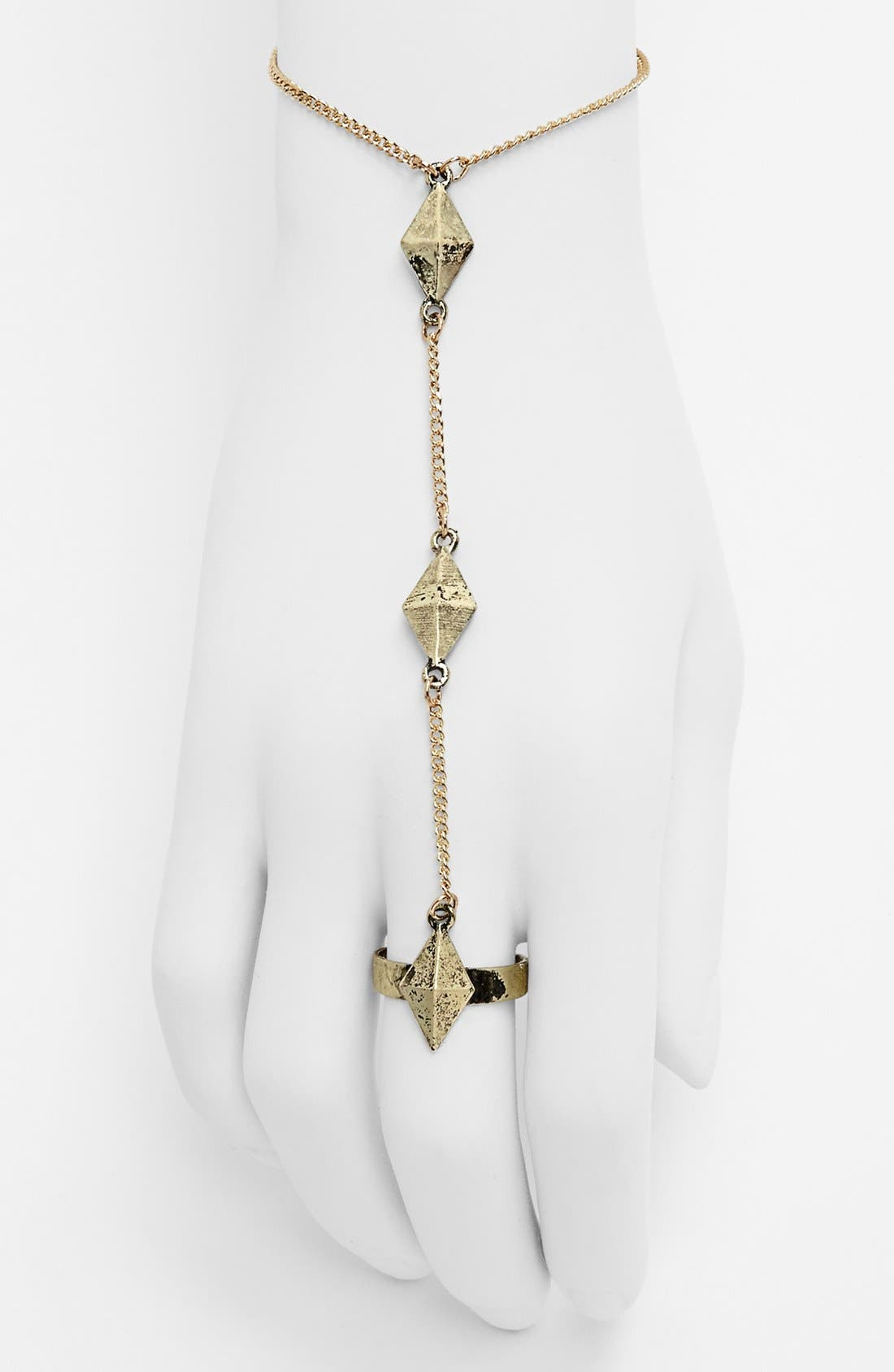 Alternate Image 1 Selected - Stephan & Co. Hand Chain (Juniors) (Online Only)