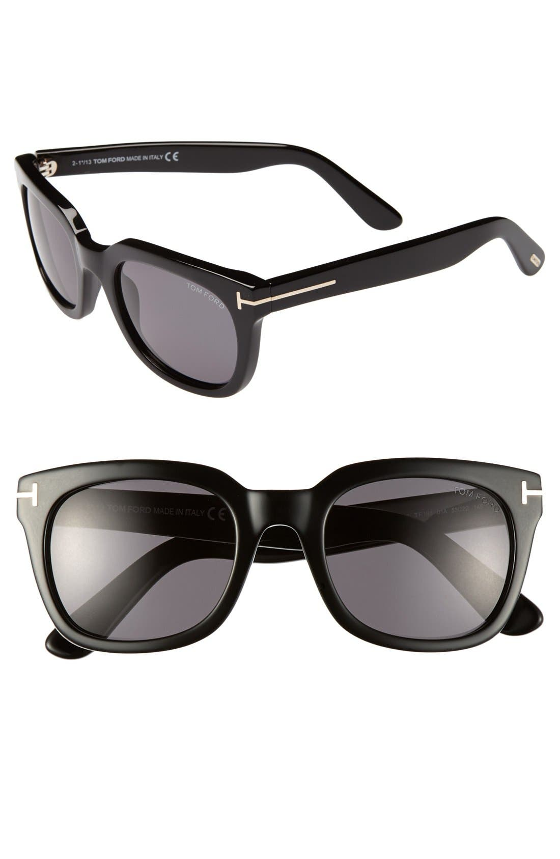 Alternate Image 1 Selected - Tom Ford 'Campbell' 53mm Sunglasses