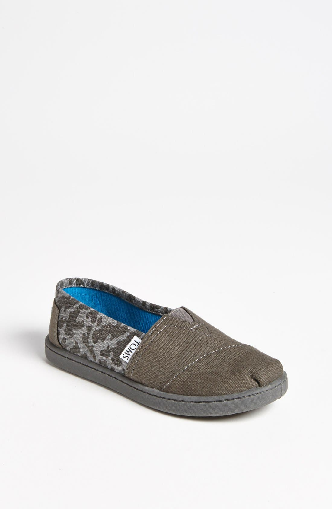 Alternate Image 1 Selected - TOMS 'Classic - Camo' Slip-On (Toddler, Little Kid & Big Kid)