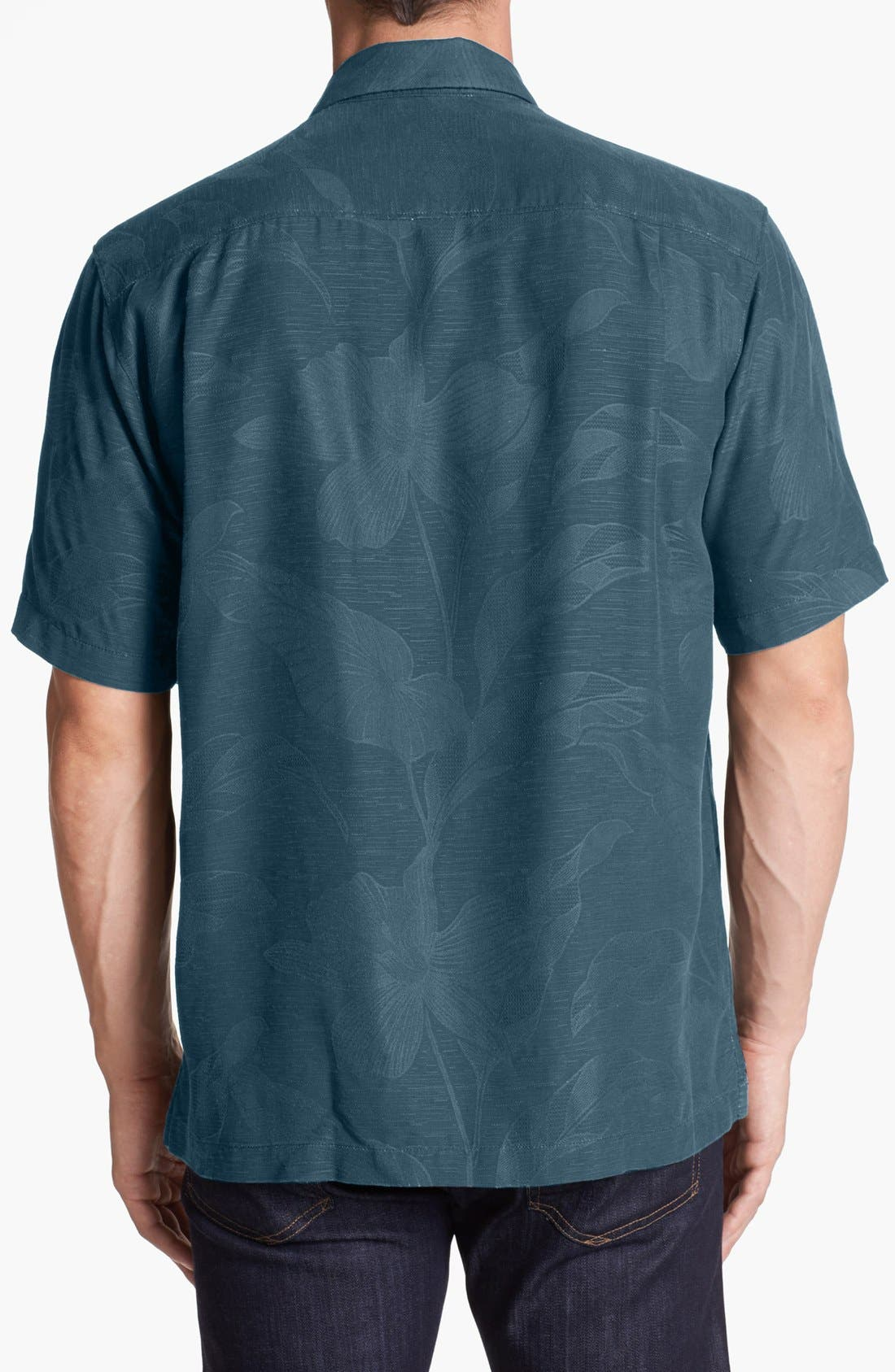 Alternate Image 2  - Tommy Bahama 'Tropic of Parallel' Campshirt (Big & Tall)