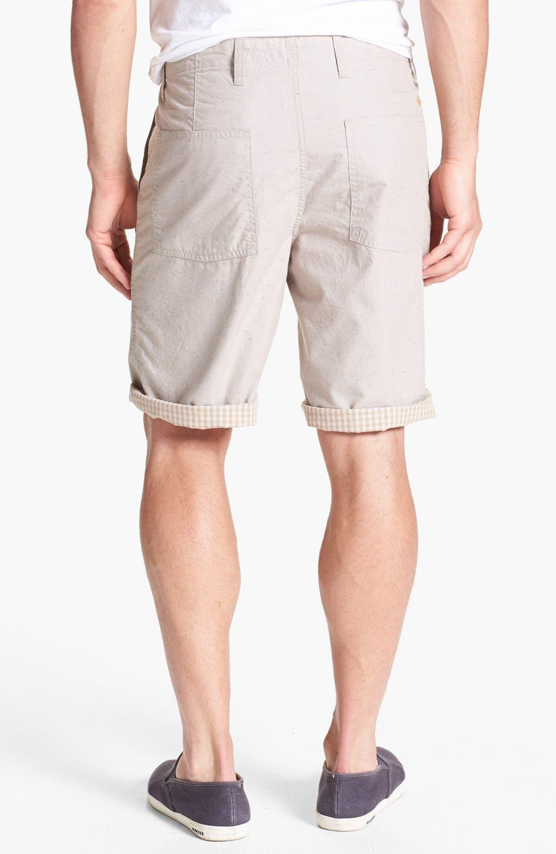 Alternate Image 3  - Dockers® Reversible Flat Front Shorts