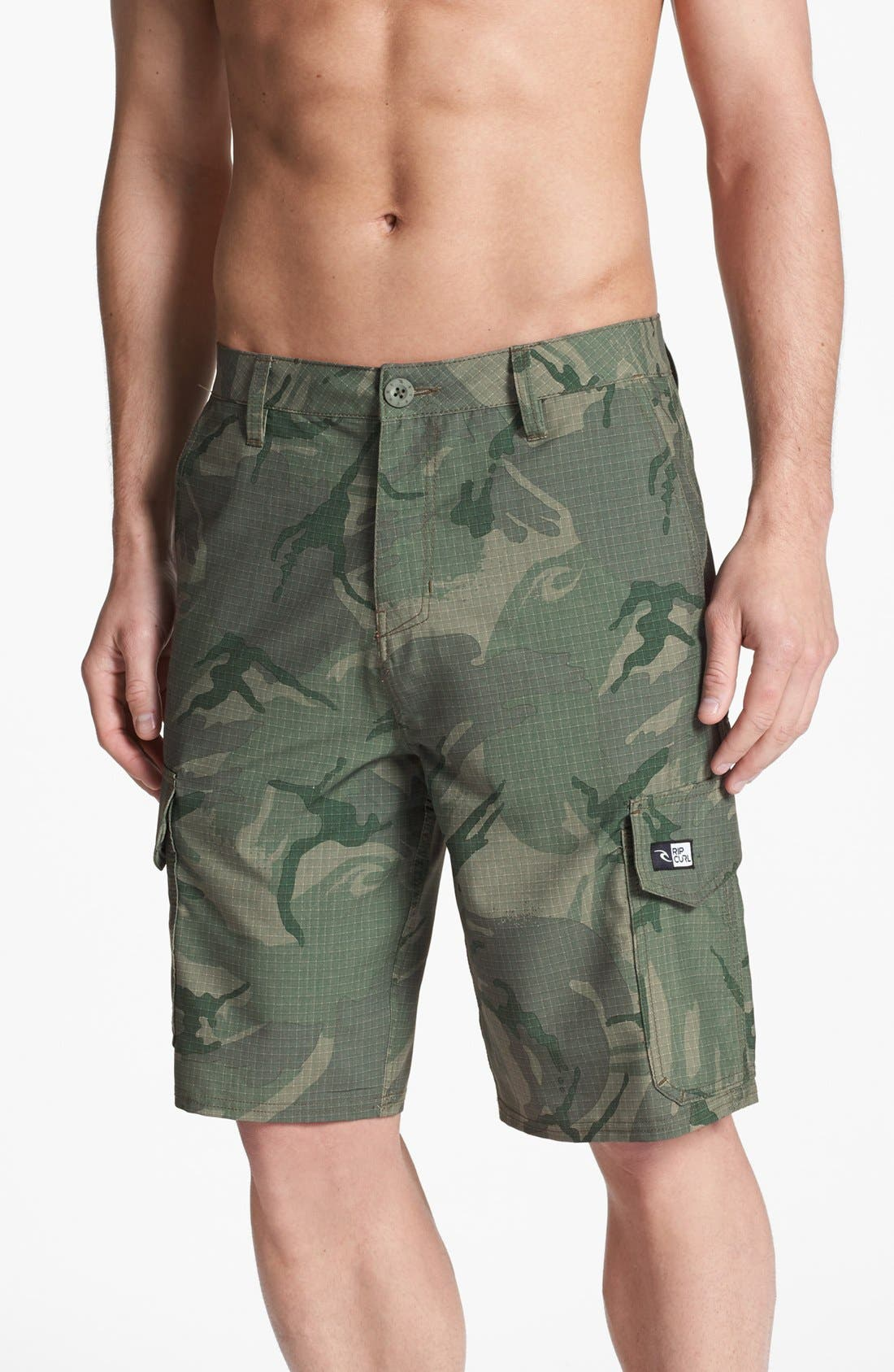 Alternate Image 1 Selected - Rip Curl 'Mirage Cargo II Boardwalk' Hybrid Shorts