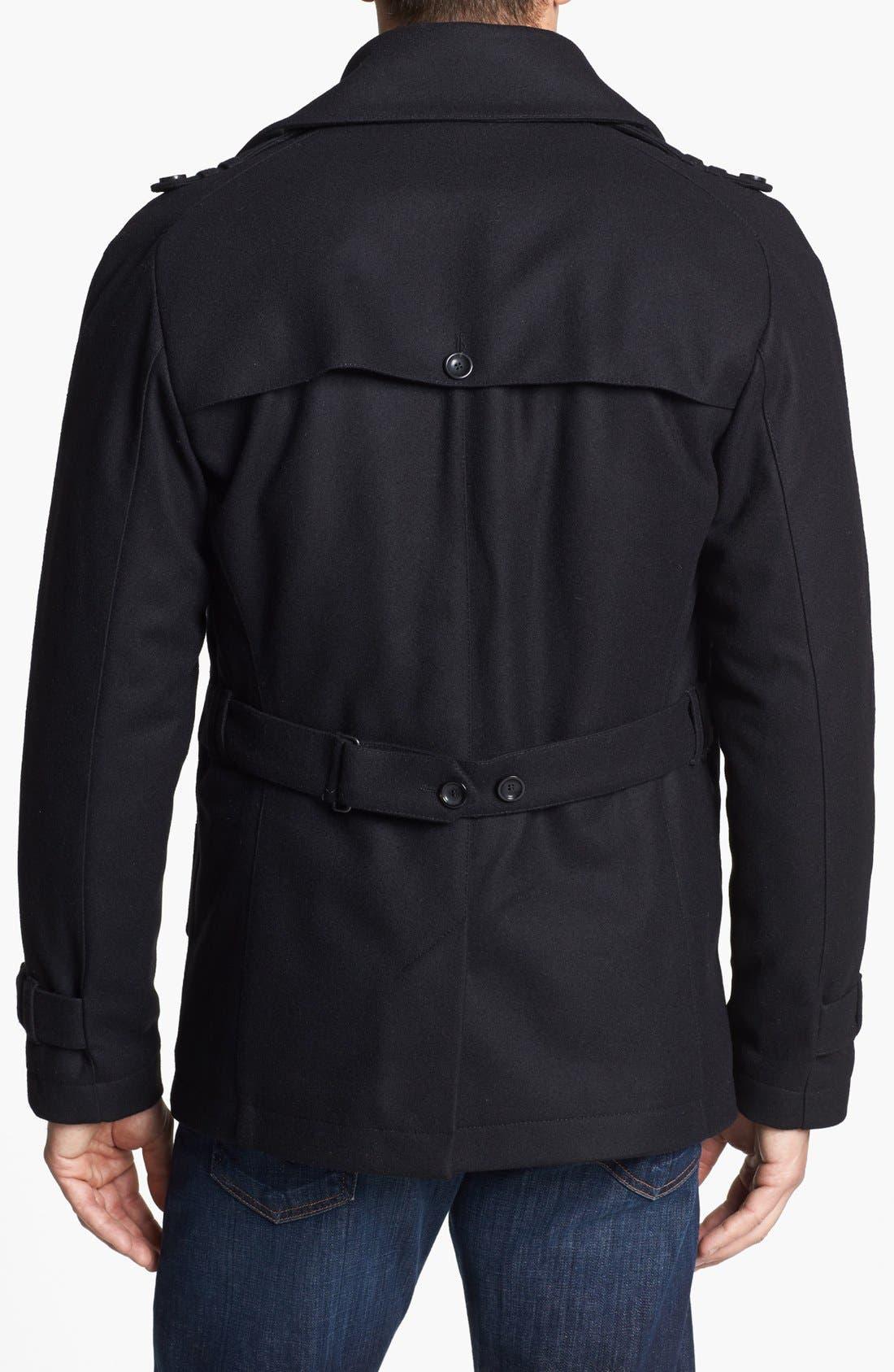 Alternate Image 2  - JOHNNYLOVE Water Repellent Duffle Jacket