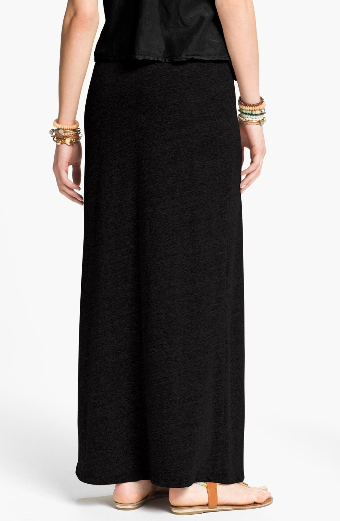 Alternate Image 2  - h.i.p. Tri-Blend Knit Maxi Skirt (Juniors)