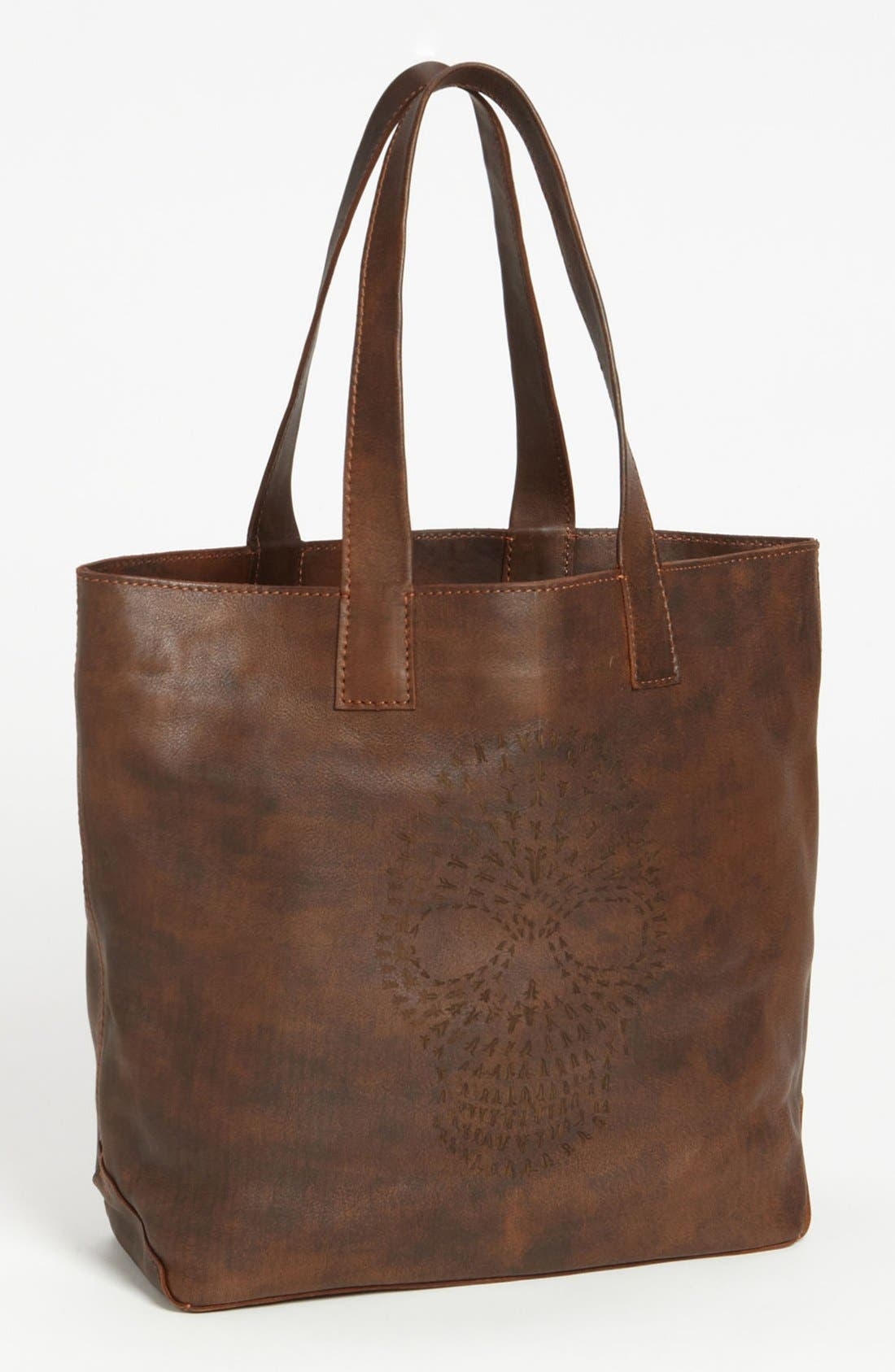 Alternate Image 1 Selected - Frye 'Skull' Leather Tote