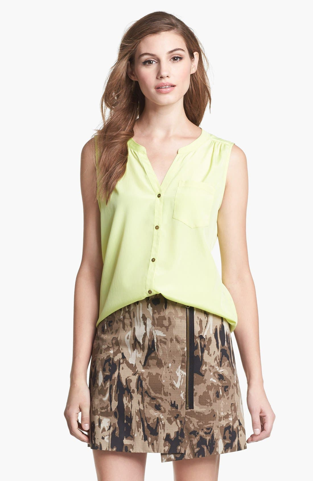 Main Image - Kenneth Cole New York 'Jolie' Sleeveless Blouse