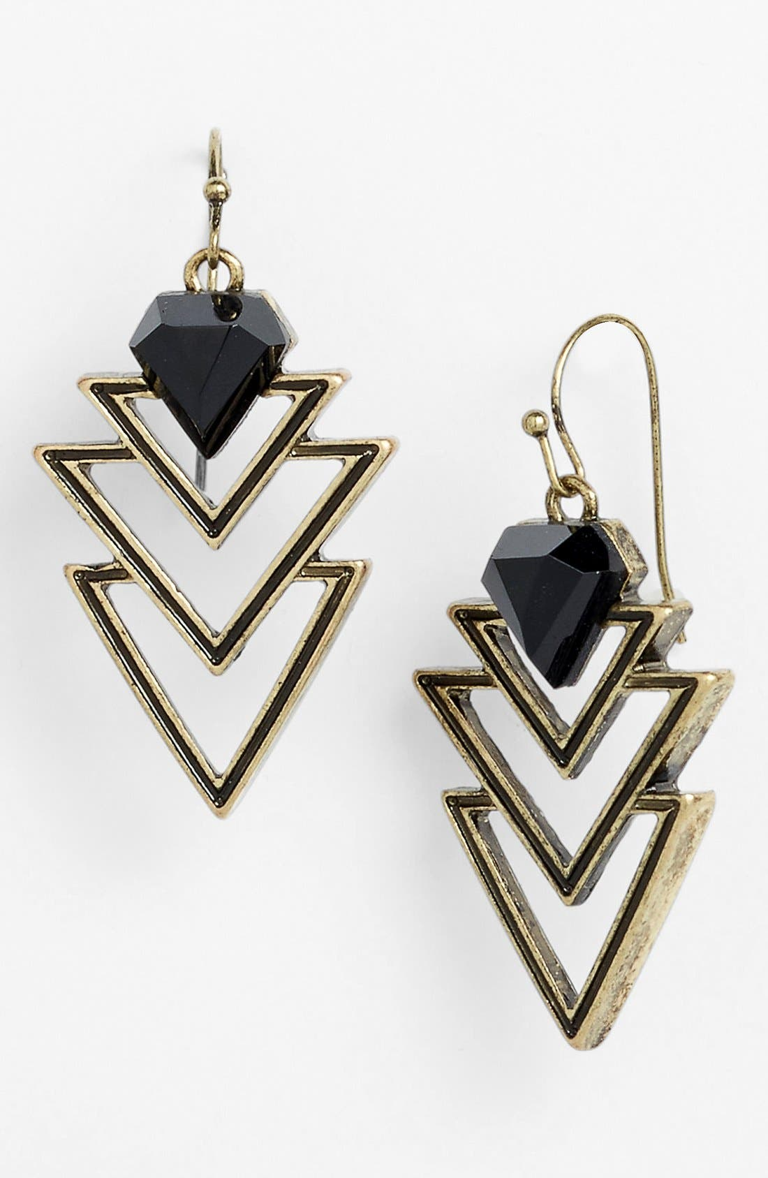Main Image - Orion 'Triangle' Drop Earrings