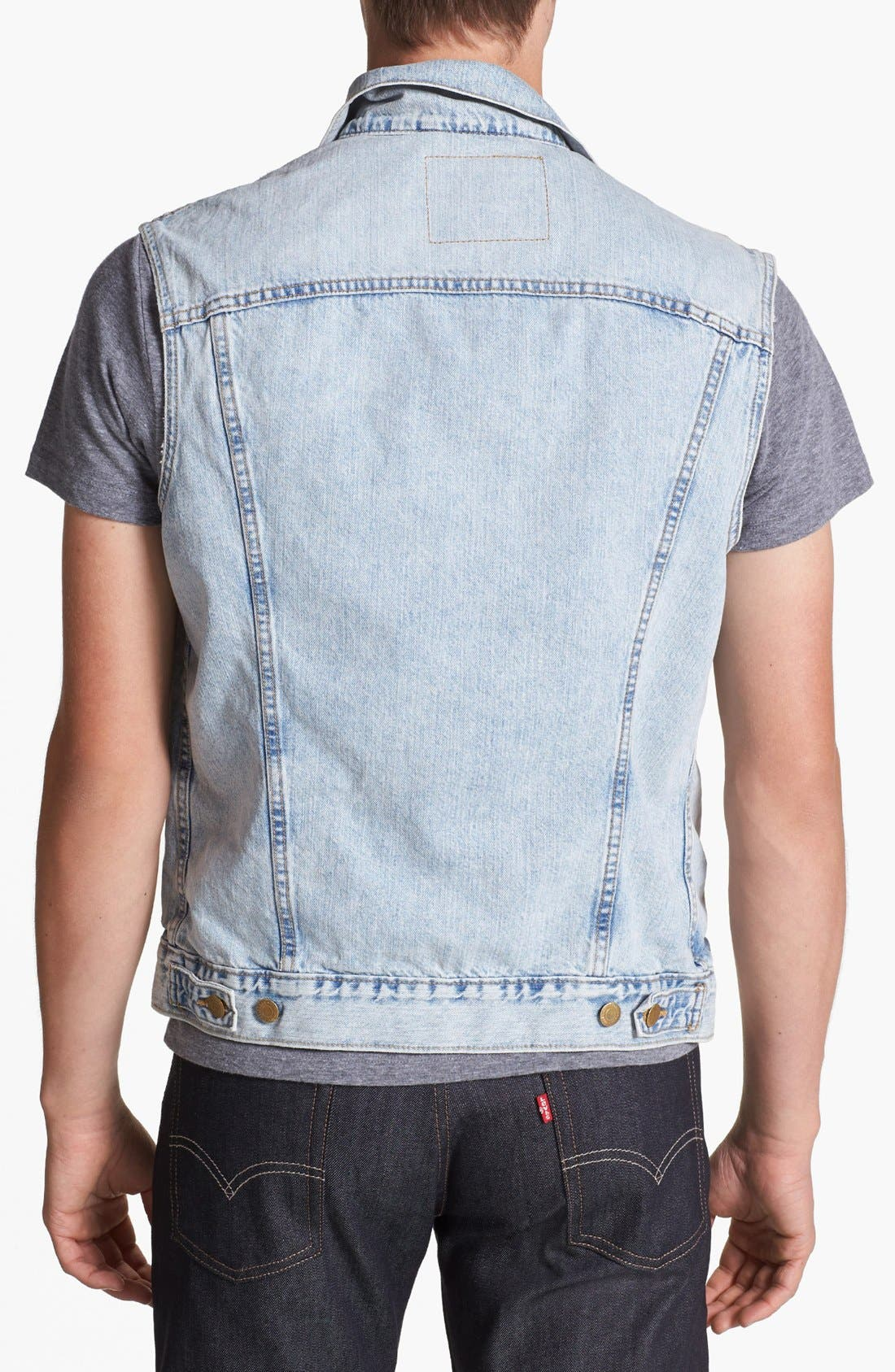 Alternate Image 2  - Levi's® Denim Vest