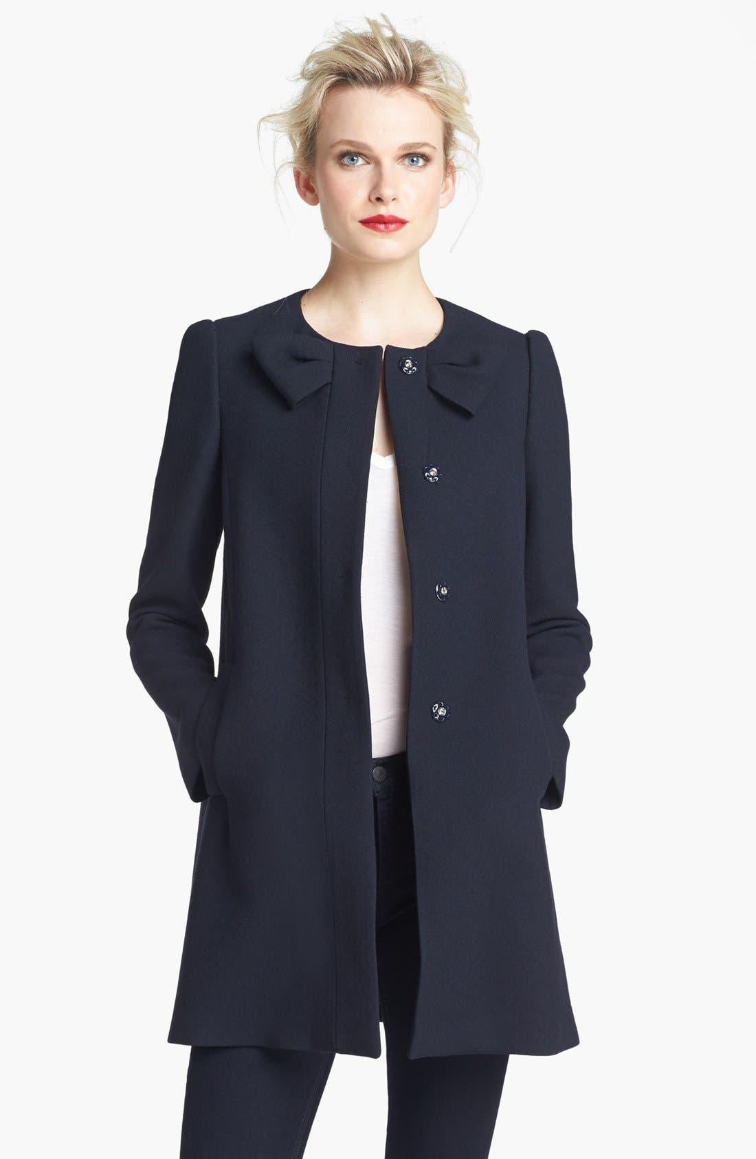 Alternate Image 2  - RED Valentino Bow Detail Coat