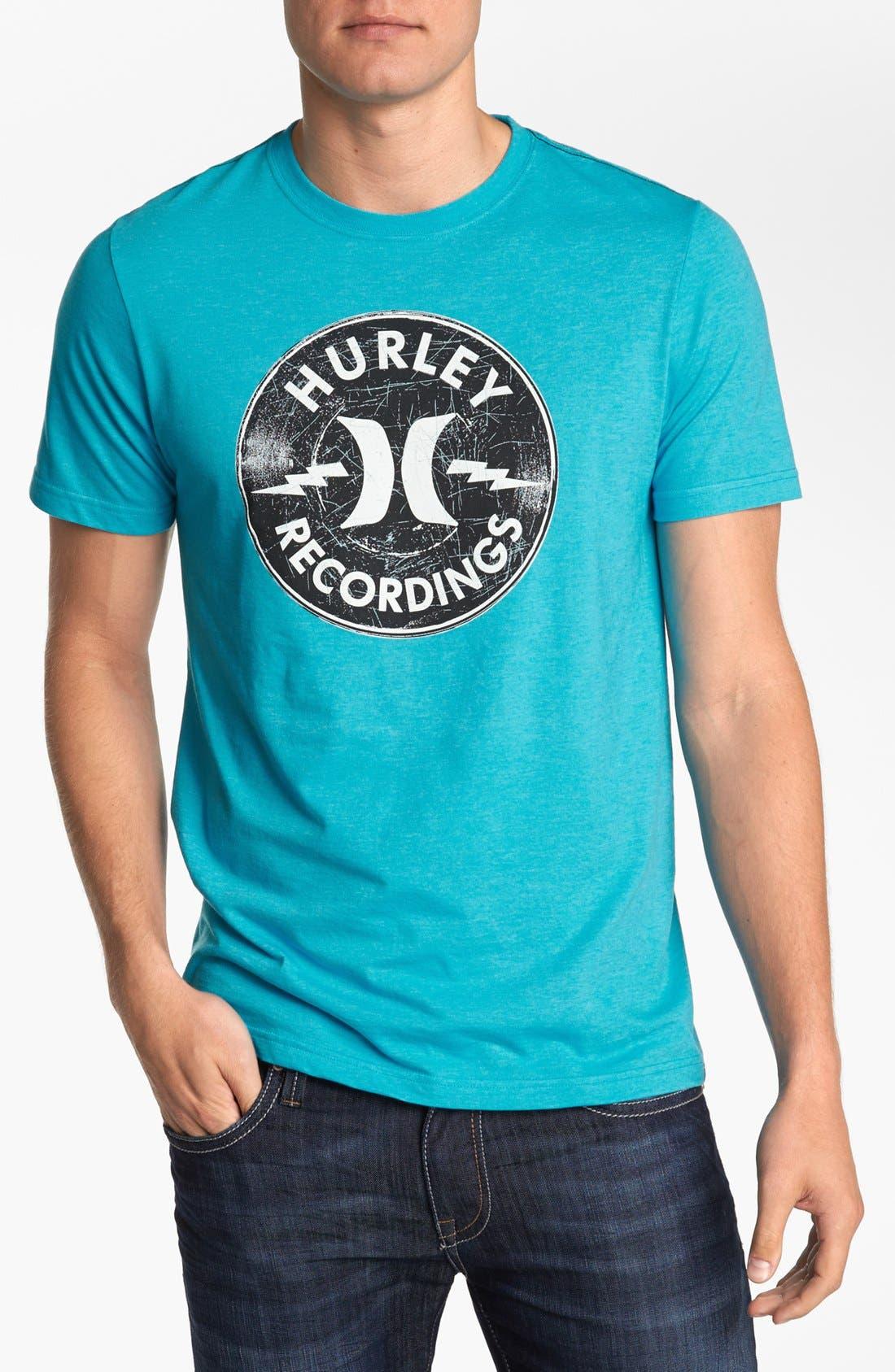 Alternate Image 1 Selected - Hurley 'Recordings' T-Shirt