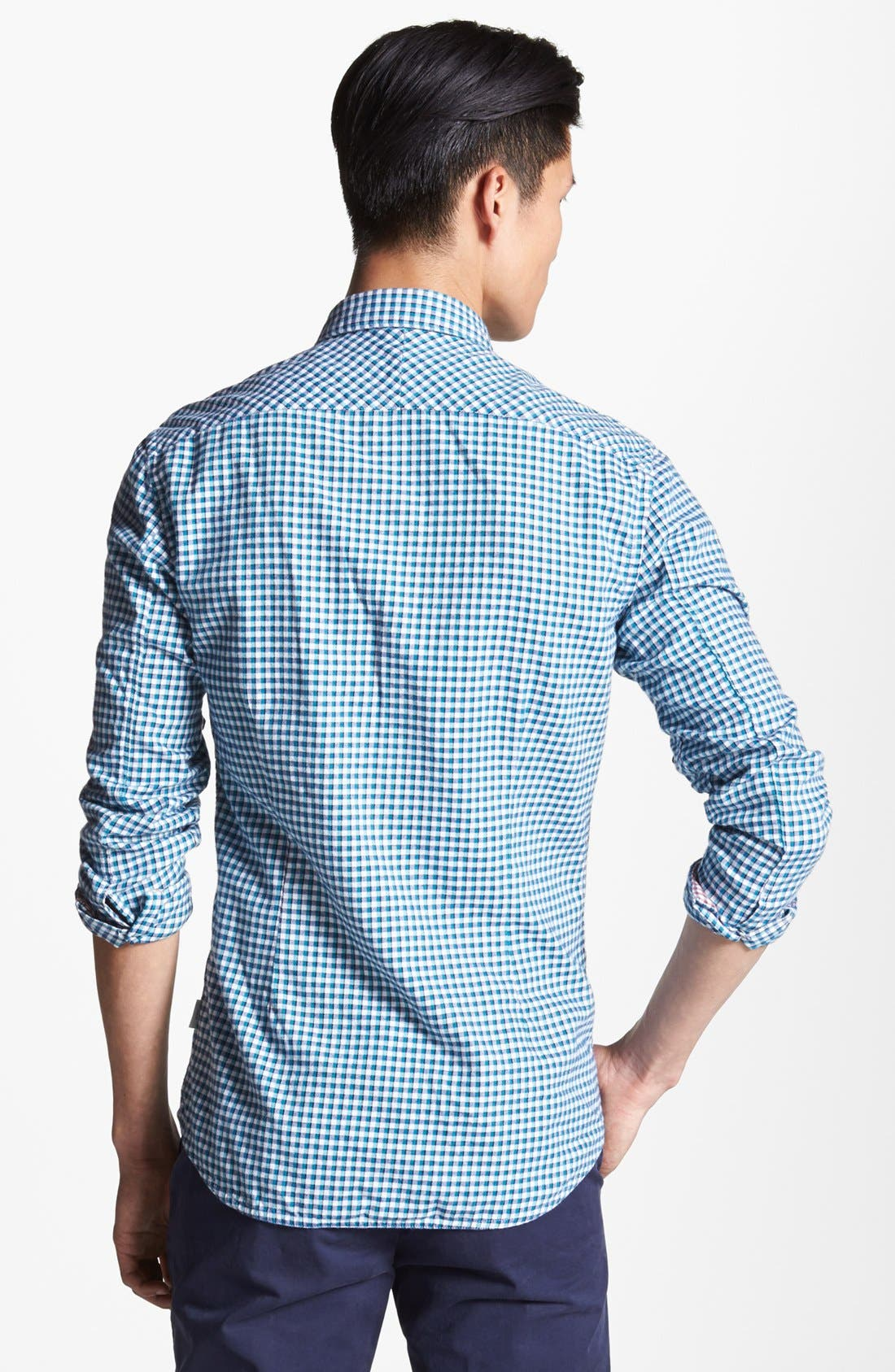 Alternate Image 2  - Paul Smith Jeans Slim Fit Check Flannel Shirt