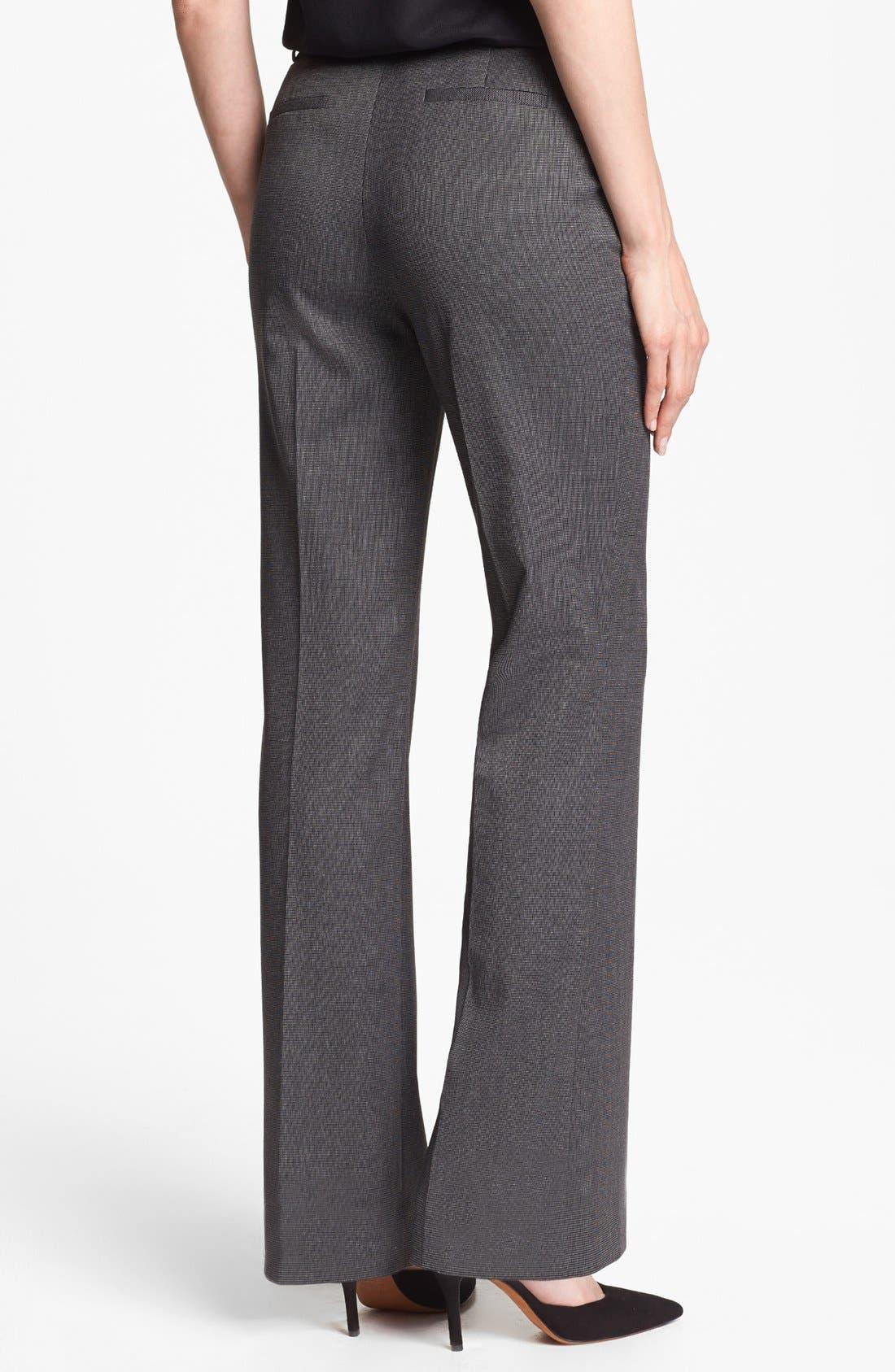 Alternate Image 2  - Halogen® 'Taylor' Tweed Pants