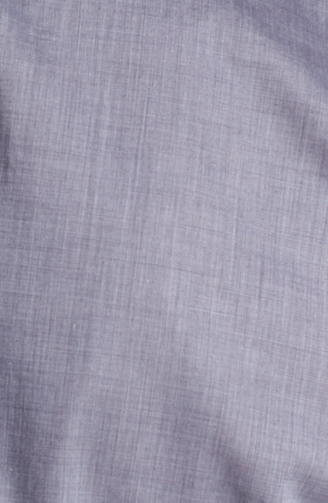 Alternate Image 2  - John Varvatos Collection Slim Fit Cotton Woven Shirt
