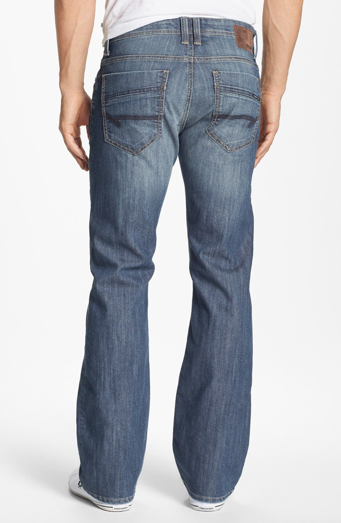 Main Image - Mavi Jeans 'Josh' Bootcut Jeans (Brushed American Comfort) (Online Only)
