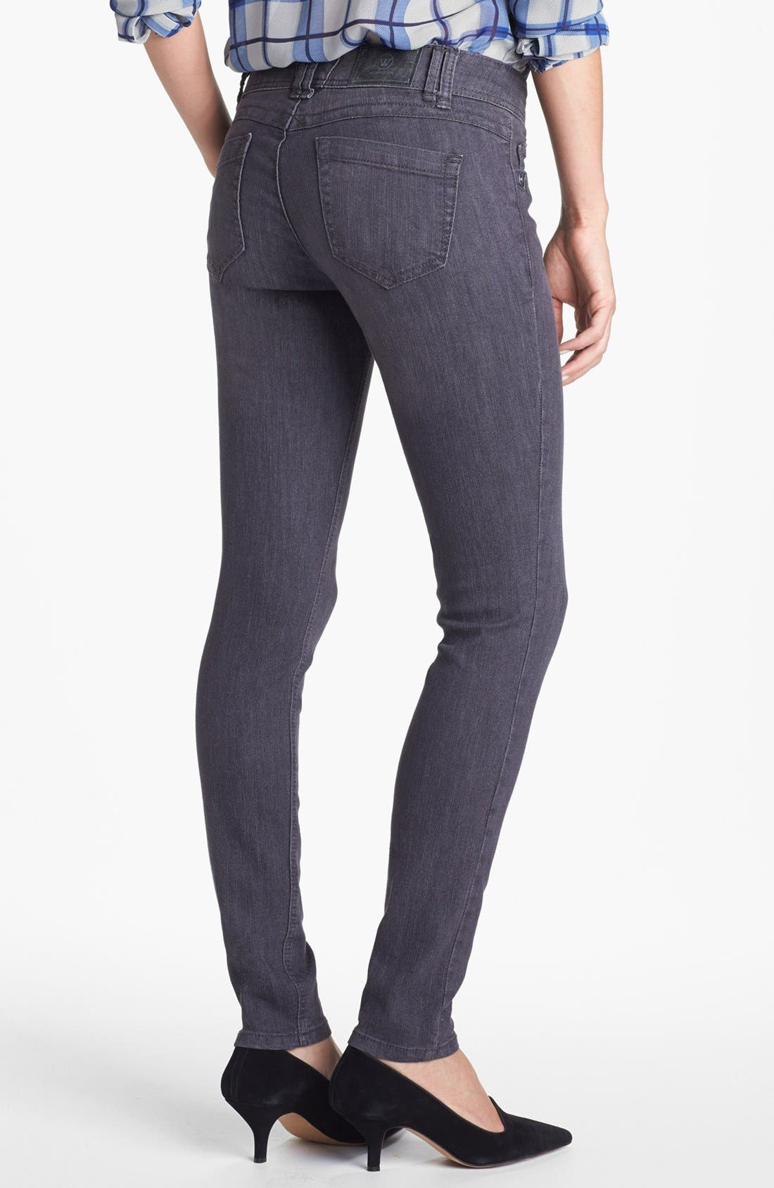Alternate Image 2  - Wit & Wisdom Skinny Jeans (Dark Grey) (Nordstrom Exclusive)