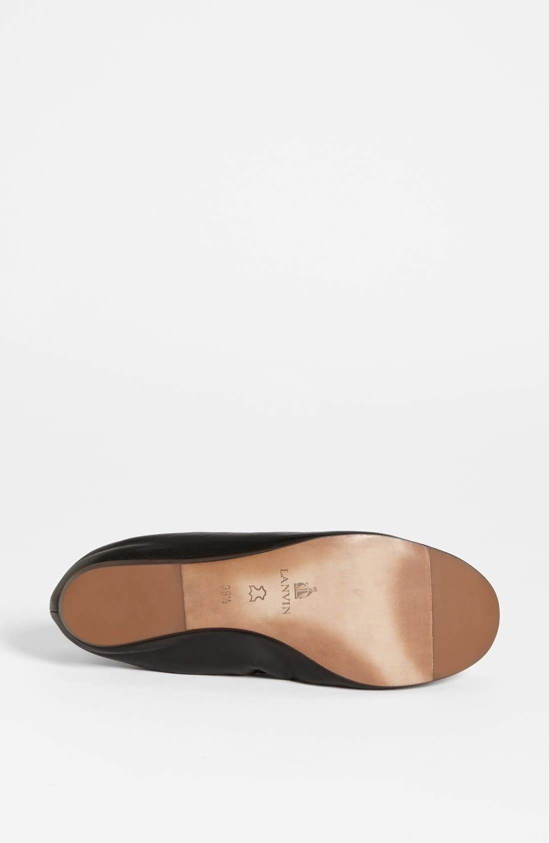 Alternate Image 4  - Lanvin Ballet Flat