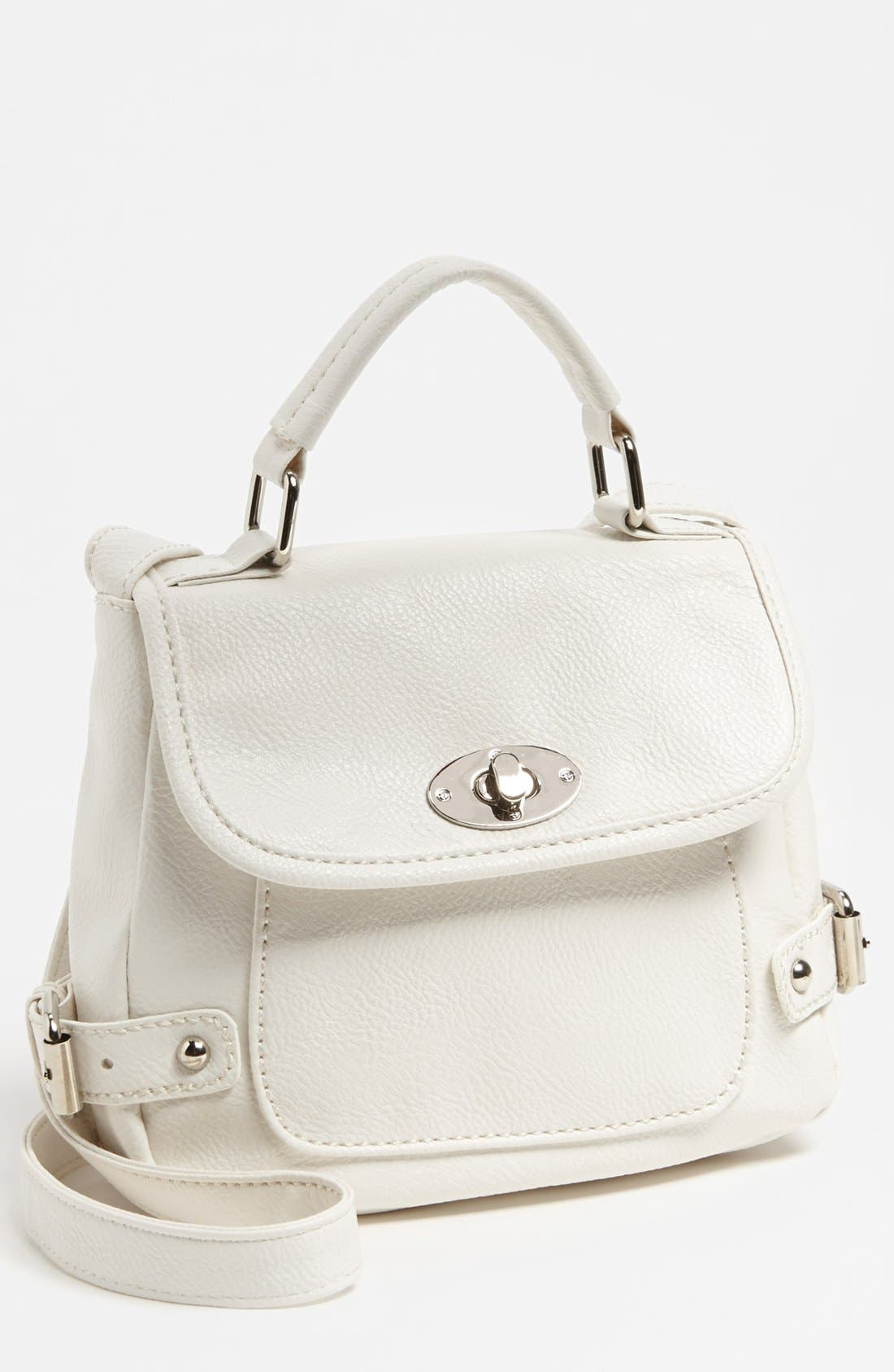Alternate Image 1 Selected - Cesca 'Top Notch' Crossbody Bag, Small