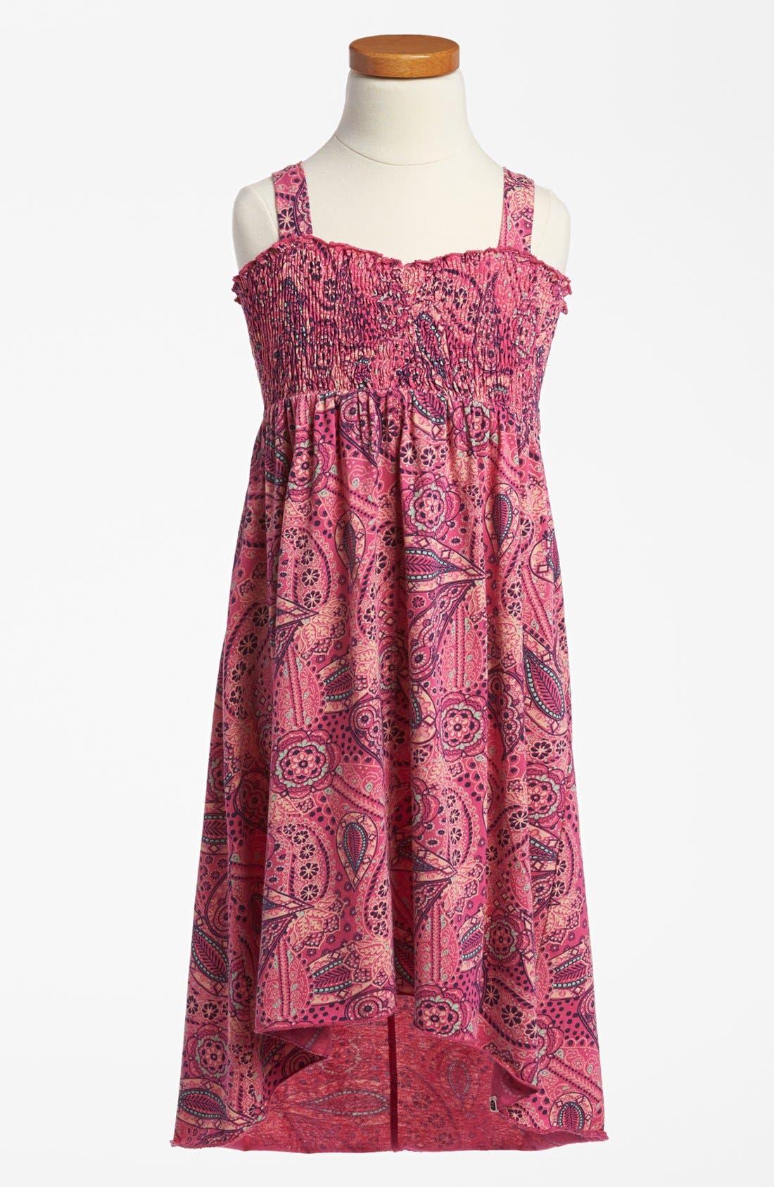 Alternate Image 1 Selected - Billabong 'Washed Away' Dress (Big Girls)