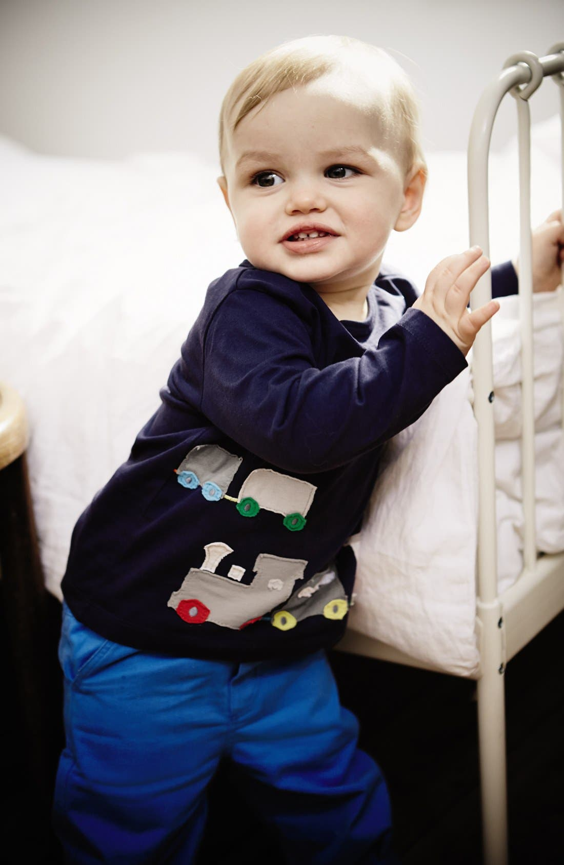 Alternate Image 2  - Mini Boden 'Big Appliqué' T-Shirt (Baby Boys)
