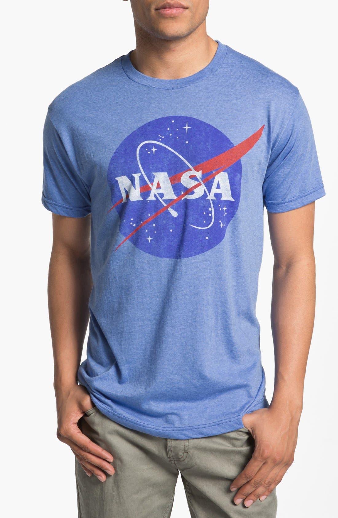 Alternate Image 1 Selected - Topless 'NASA Logo' Graphic T-Shirt