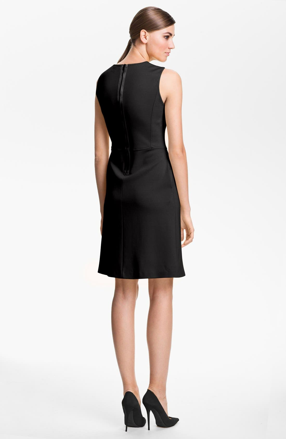 Alternate Image 2  - St. John Collection Sleeveless Milano Knit Dress