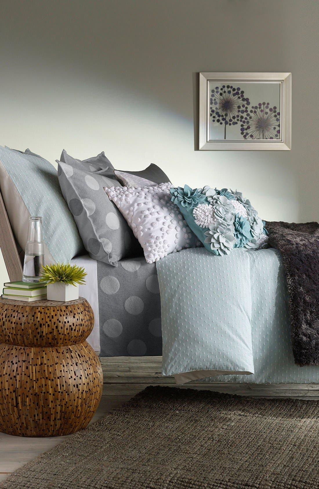 Alternate Image 3  - Nordstrom at Home 'Dottie' Flannel Blanket