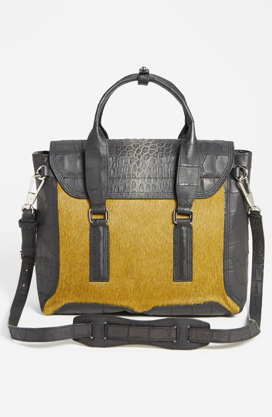 Alternate Image 4  - 3.1 Phillip Lim 'Pashli - Medium' Calf Hair & Leather Satchel