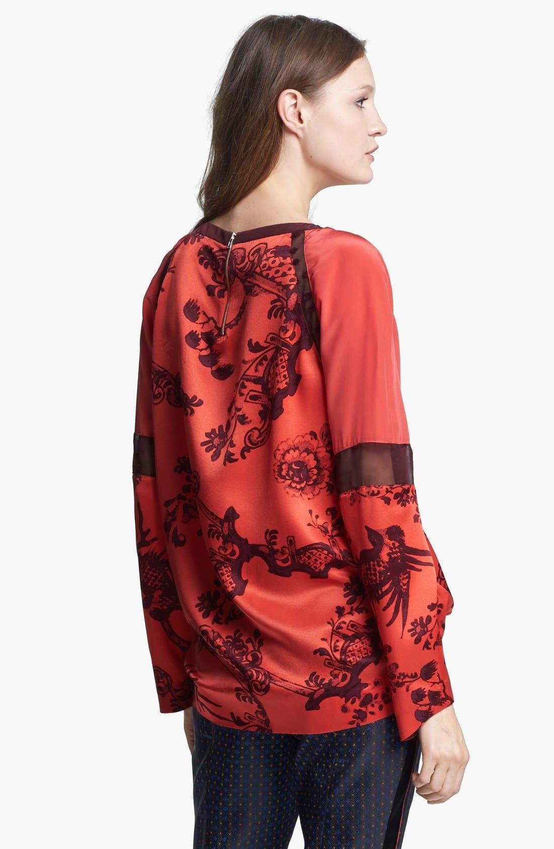 Alternate Image 3  - Elizabeth and James 'Nostrand' Print Silk Blouse