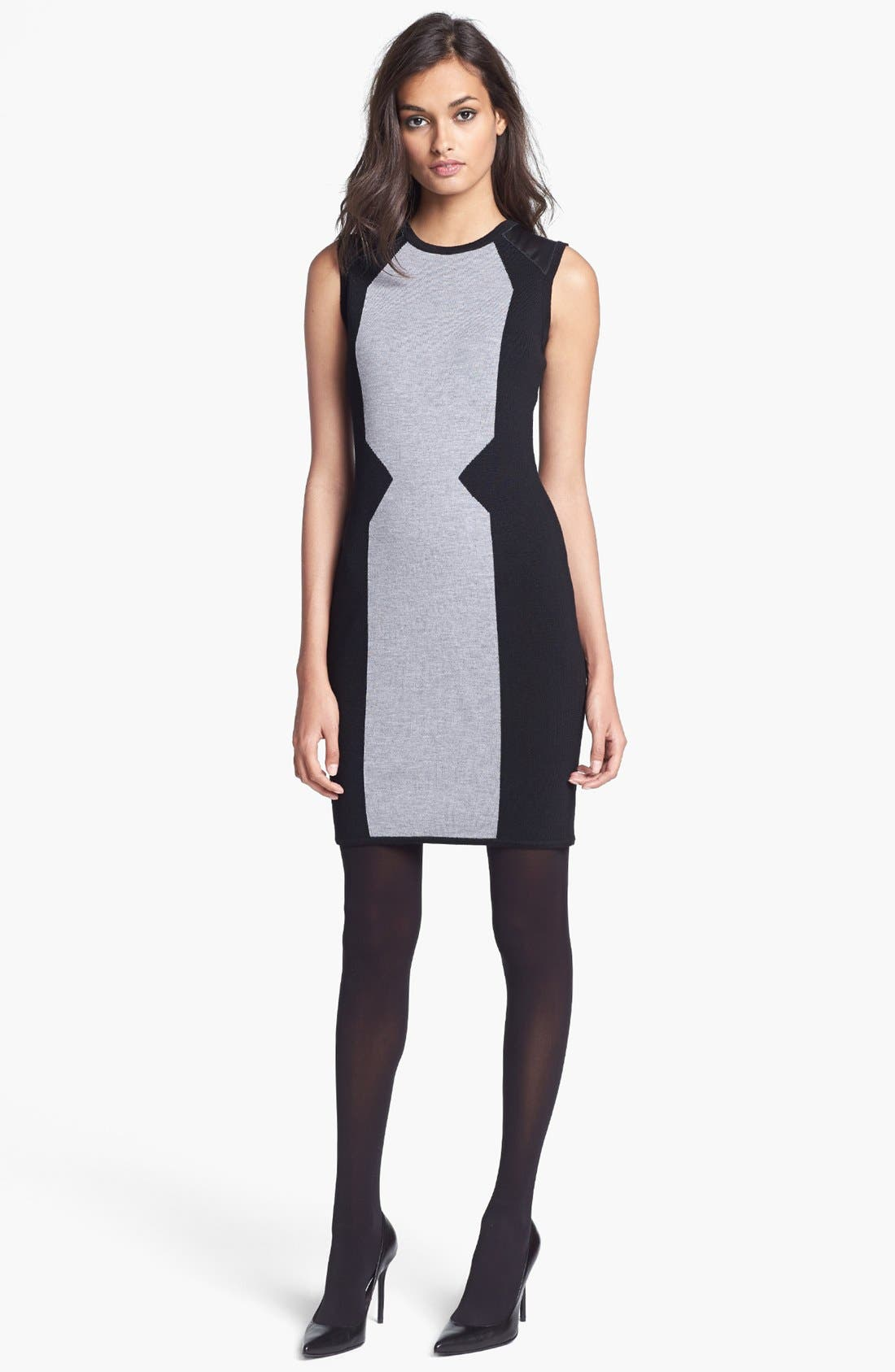 Main Image - Milly Merino Wool Sweater Dress