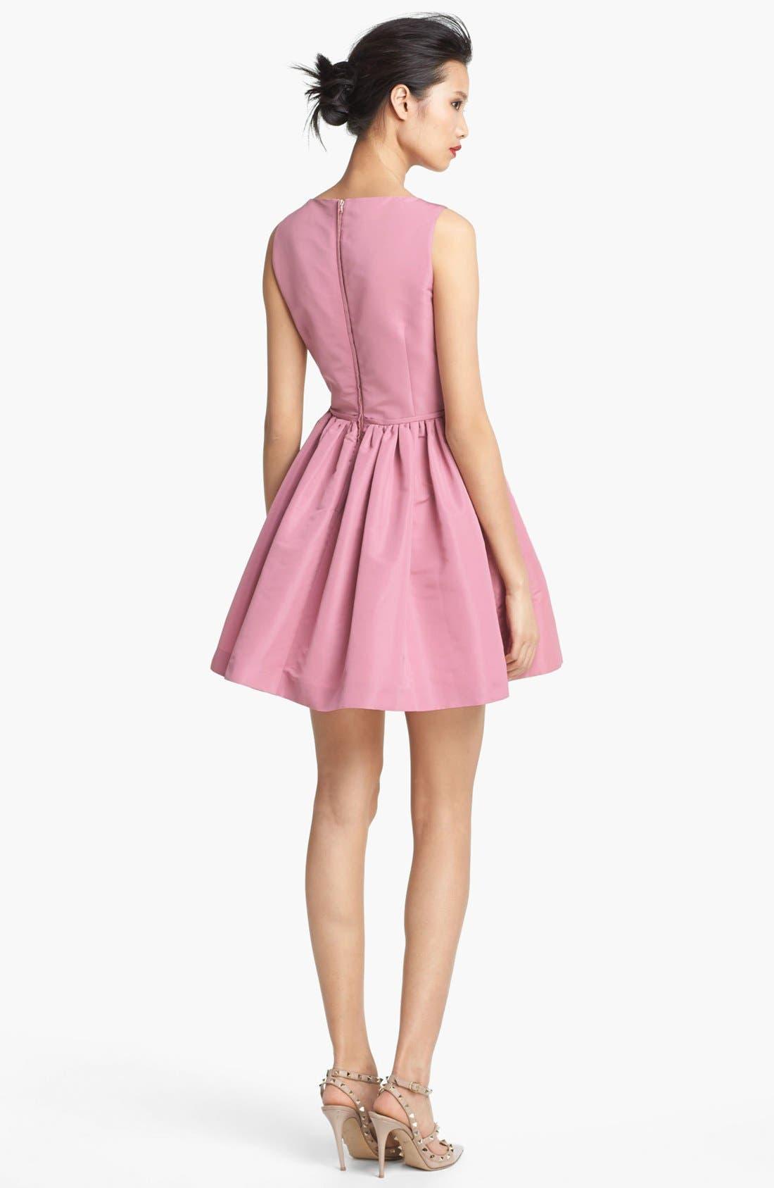 Alternate Image 2  - RED Valentino Full Skirt Faille Dress