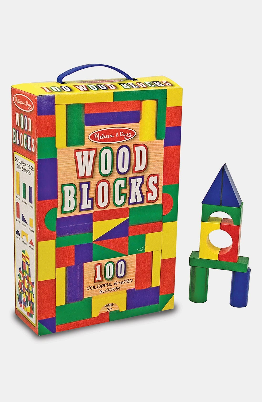Main Image - Melissa & Doug Painted Blocks