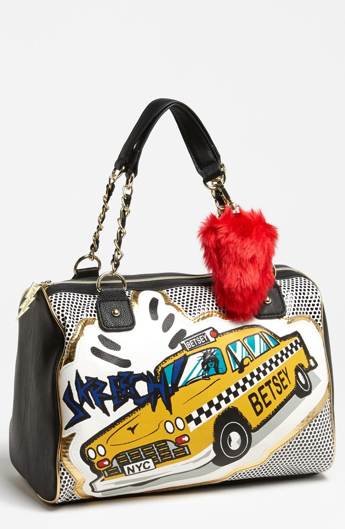 Alternate Image 1 Selected - Betsey Johnson 'Super Betsey' Satchel