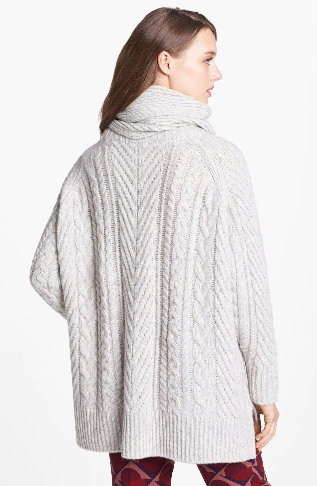 Alternate Image 2  - MARC BY MARC JACOBS 'Connolly' Crew Neck Sweater with Scarf