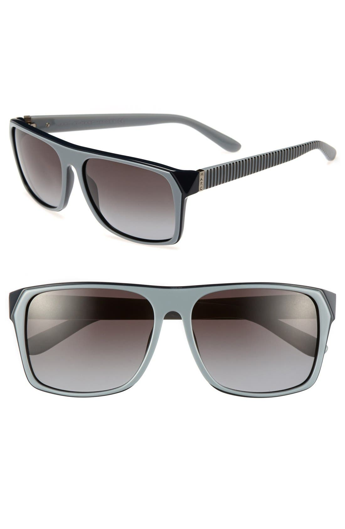 Main Image - MARC BY MARC JACOBS 58mm Sunglasses